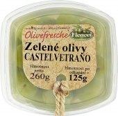 Zelené olivy  Castelvetrano Ficacci