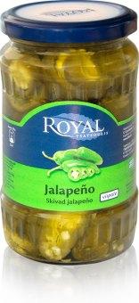 Zelené papričky Jalapeňo Royal