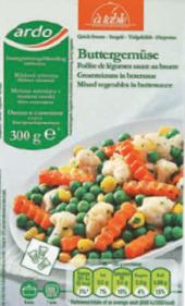 Zelenina s bylinkovým máslem mražená Ardo