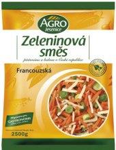 Zeleninová francouzská směs mražená Agro Jesenice