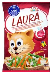 Zeleninová směs mražená Laura ANO mrazírny