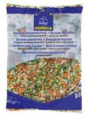 Zeleninová směs mražená Brunoise Metro Chef