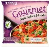 Zeleninová směs mražená Gourmet Style spices Tesco