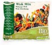 Zeleninová směs mražená mix bio Wok Ardo Mochov