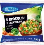 Zeleninová směs s brokolicí mražená Nowaco