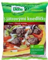 Zeleninová směs s játrovými knedlíčky mražená Dione