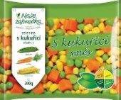 Zeleninová směs s kukuřicí mražená Naše Zahrádka
