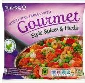 Zeleninová směs mražená Style spices Tesco