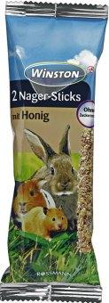 Pamlsky pro králíky zeleninová tyčinka Nager-Stick Winston