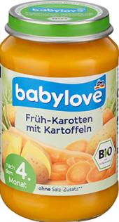 Zeleninový příkrm bio Babylove