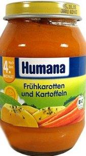 Zeleninový příkrm Humana