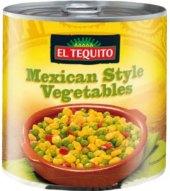 Zeleninový talíř konzervovaný El Tequito
