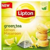 Čaj zelený Lipton - pyramidový