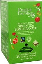 Zelený čaj English Tea Shop - pyramidový