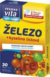 Doplněk stravy Železo + kyselina listová Maxivita