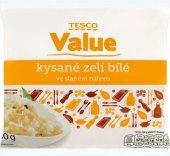 Zelí bílé kysané Tesco Value