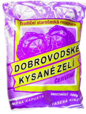 Zelí červené kysané Dobrovodské