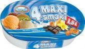 Zmrzlina ve vaničce 4 Maxi Smaki Koral