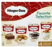 Zmrzlina v kelímku Favorite selection Häagen-Dazs