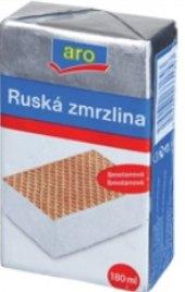 Ruská zmrzlina Aro