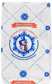 Ruská zmrzlina Plombir
