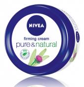 Krém tělový zpevňující Pure&Natural Nivea