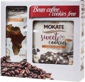 Zrnková káva Afrika Coffe Caffetteria Mokate - dárkové balení