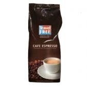 Zrnková káva Cafe Espresso Travel Free
