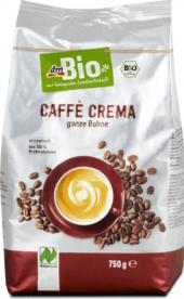 Zrnková káva Caffé Crema dm Bio
