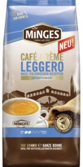 Zrnková káva Caffé Creme Leggero Minges
