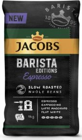 Zrnková káva Espresso Barista Jacobs