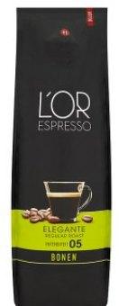 Zrnková káva Espresso Elegante Douwe Egberts L'OR