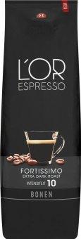 Zrnková káva Espresso Fortissimo Douwe Egberts L'OR
