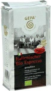 Zrnková káva Espresso Gepa