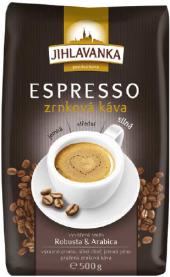 Zrnková káva Jihlavanka Espresso