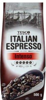 Zrnková káva Italian Espresso Intenso Tesco