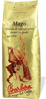 Zrnková káva Mago Barbera