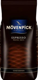 Zrnkové kávy Mövenpick