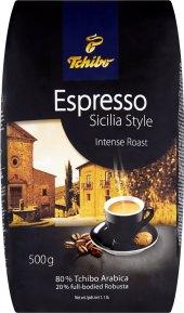 Zrnková káva Tchibo Espresso Sicilia style