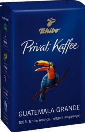 Zrnková káva Tchibo Privat Kaffee Guatemala grande