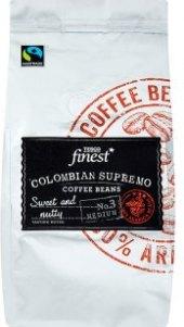Zrnkové kávy Tesco Finest
