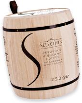 Zrnková káva v soudku Peru Selection