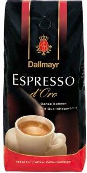 Zrnkové kávy d'Oro Dallmayr