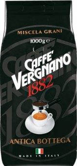 Zrnkové kávy Vergnano