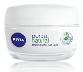 Krém pleťový zvláčňující Pure&Natural Nivea