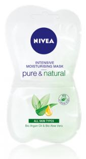 Maska pleťová zvláčňující Pure&Natural Nivea