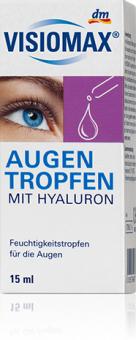 Kapky oční zvlhčující s kyselinou hyaluronovou Visiomax