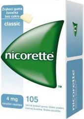 Nikotinové žvýkačky Gum 4 mg Nicorette