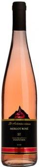 Víno Zweigeltrebe Rosé Vinařství Blatel - pozdní sběr