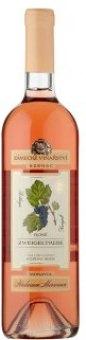 Víno Zweigeltrebe Rosé Zámecké vinařství Bzenec